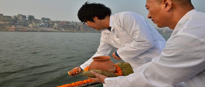 Asthi Visarjan in Gaya